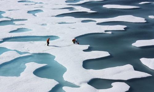 Biển bắc cực tan băng sụt giảm diện tích